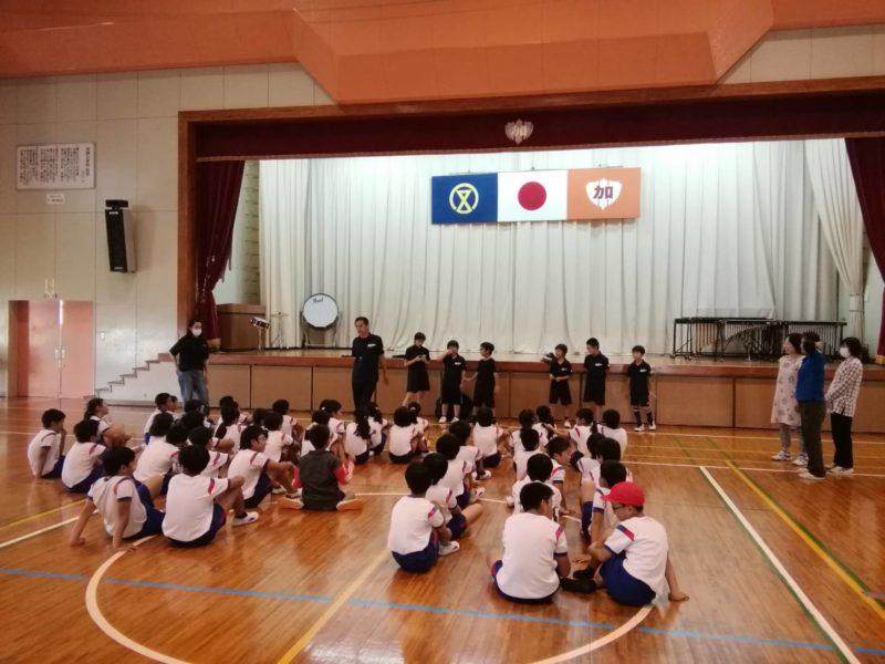 とある小学校のレクリエーションに参加しました!!